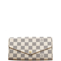 Louis Vuitton-DAMIER AZUR SARAH WALLET
