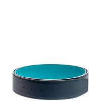 Hermes-REVERSIBLE 40MM BELT EPSOM-T BLACK GREEN