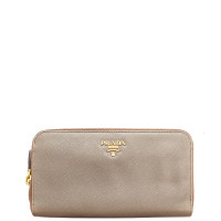 Prada-SAFFIANO METAL ZIPPY WALLET-1M0506