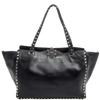 Valentino-RockStud Medium Tote Bag
