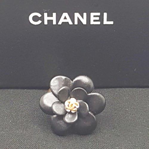 Chanel-Ceramic Camelia CC