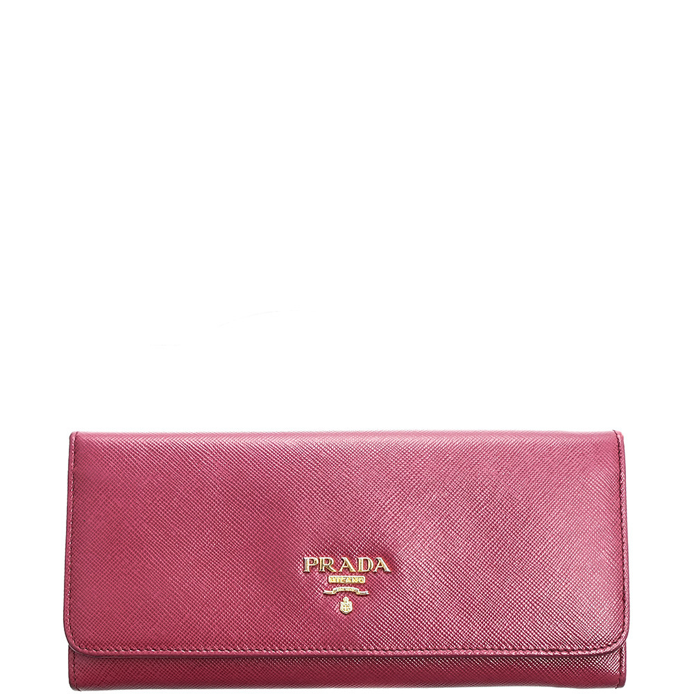 Prada-SAFFIANO LONG WALLET-1M1132