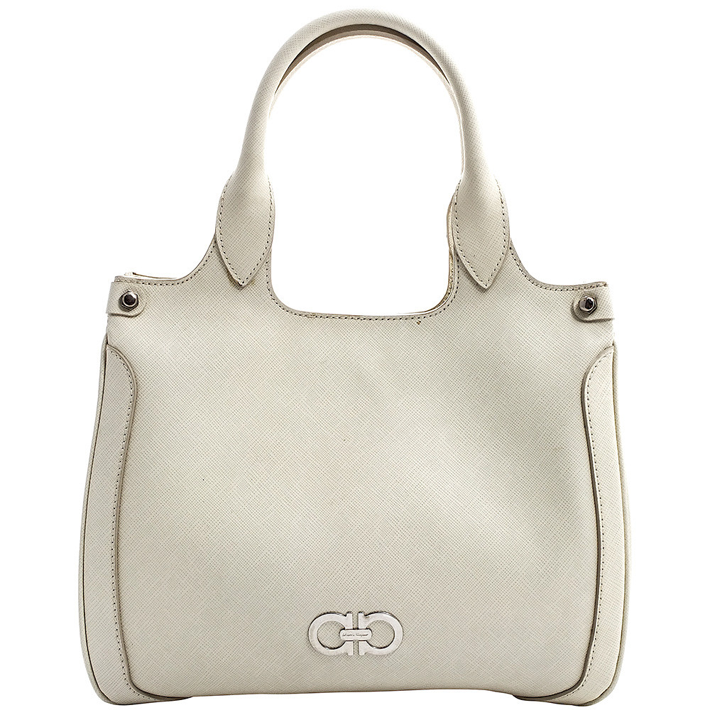 Ferragamo-MEDIUM TOP HANDLE TOTE