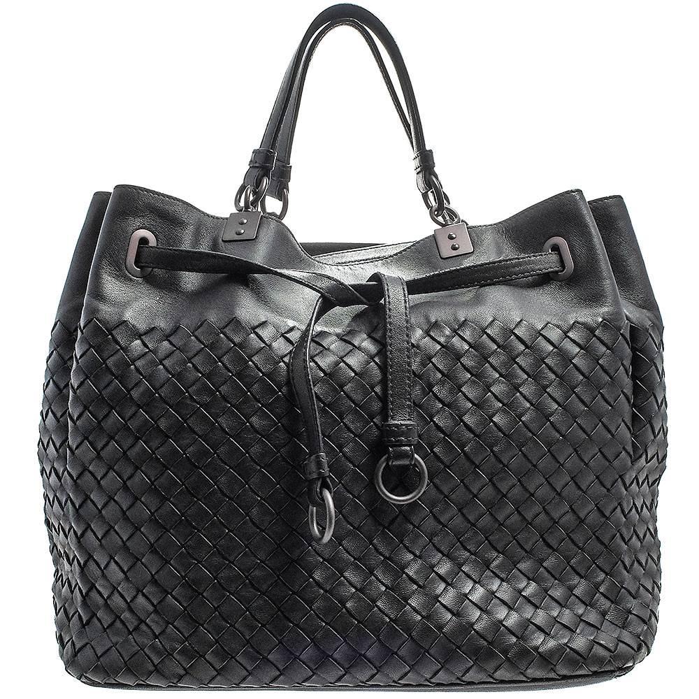 Bottega Veneta-INTRECCIATO BUCKET BAG-420477
