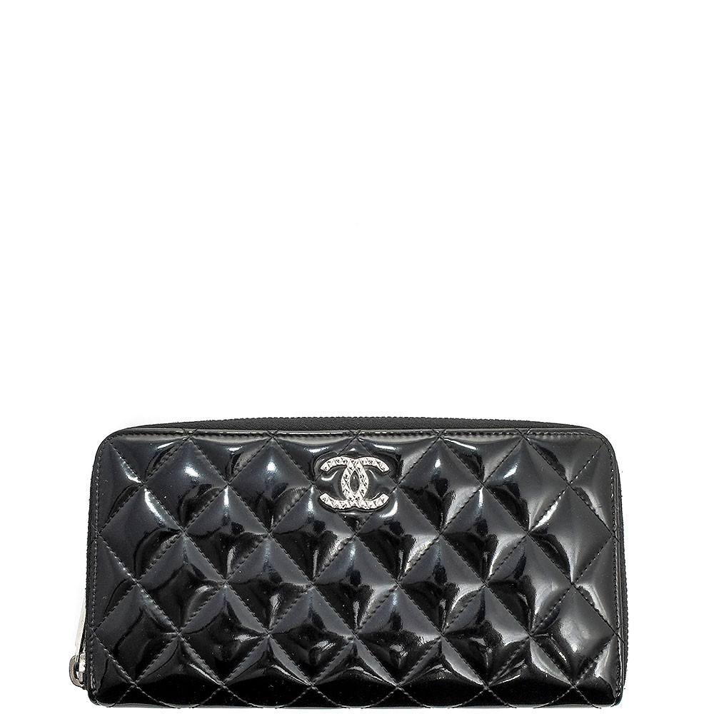 Chanel-BRILLIANT ZIPPY WALLET SHW-A50106