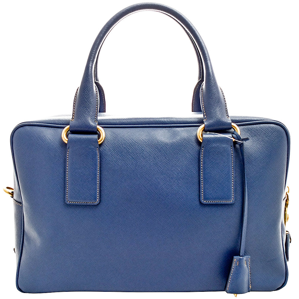 Prada-SAFFIANO MEDIUM BOSTON BAG-BL0718
