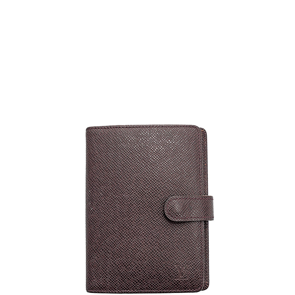 Louis Vuitton-Agenda Pm  Cuir Taiga-R20426