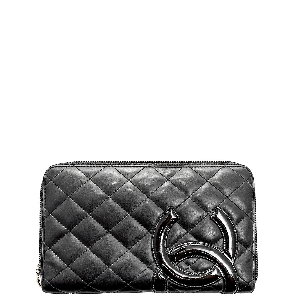 Chanel-Zippy Cambon Wallet