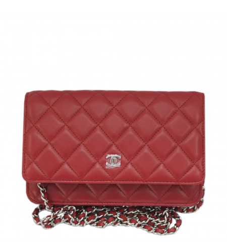 698a5a6791eb Hover to zoom | Click to enlarge. Chanel. Wallet on Chain - A33814